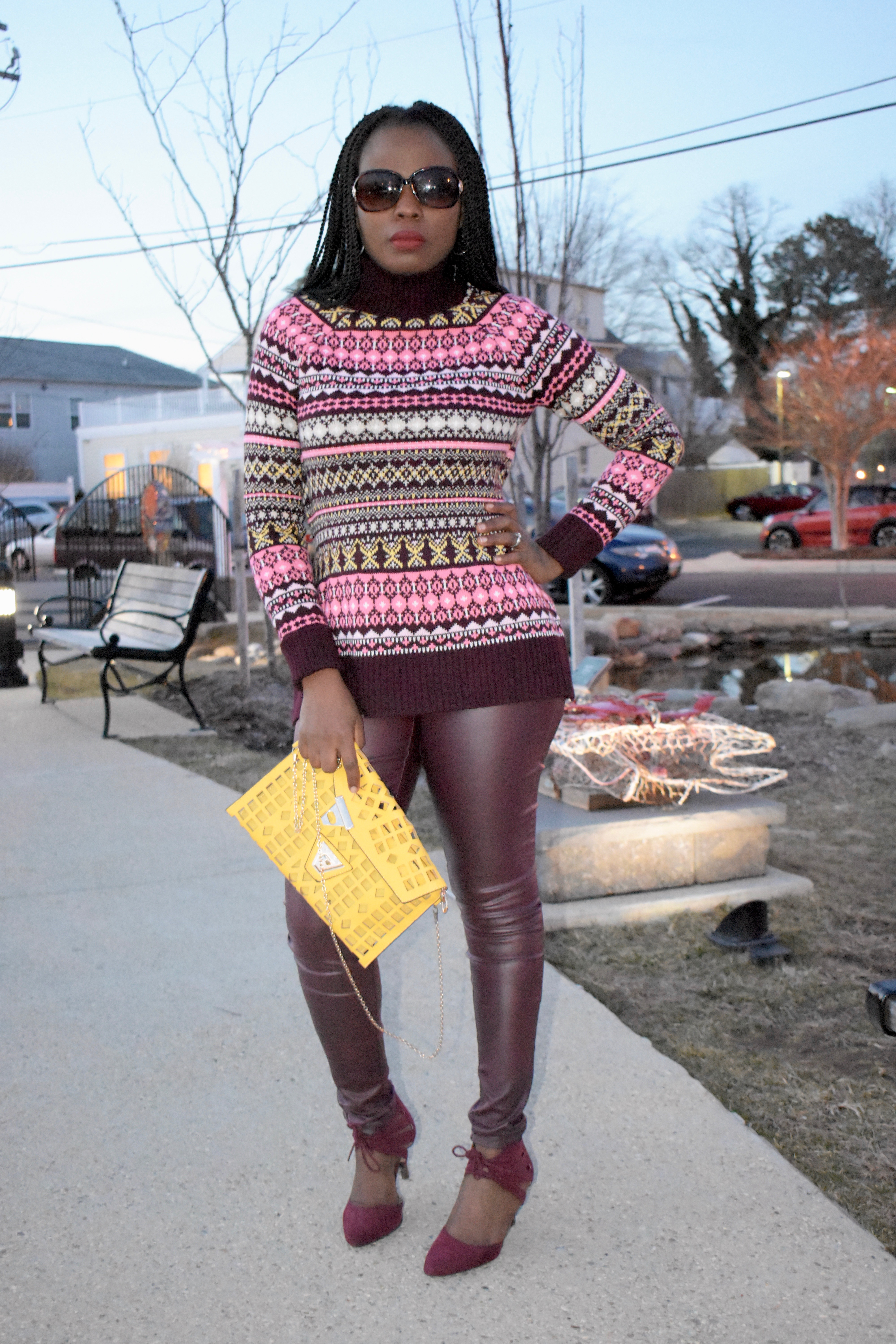 Chunky sweater for winter+ read the review and make your own conclusion. graphic