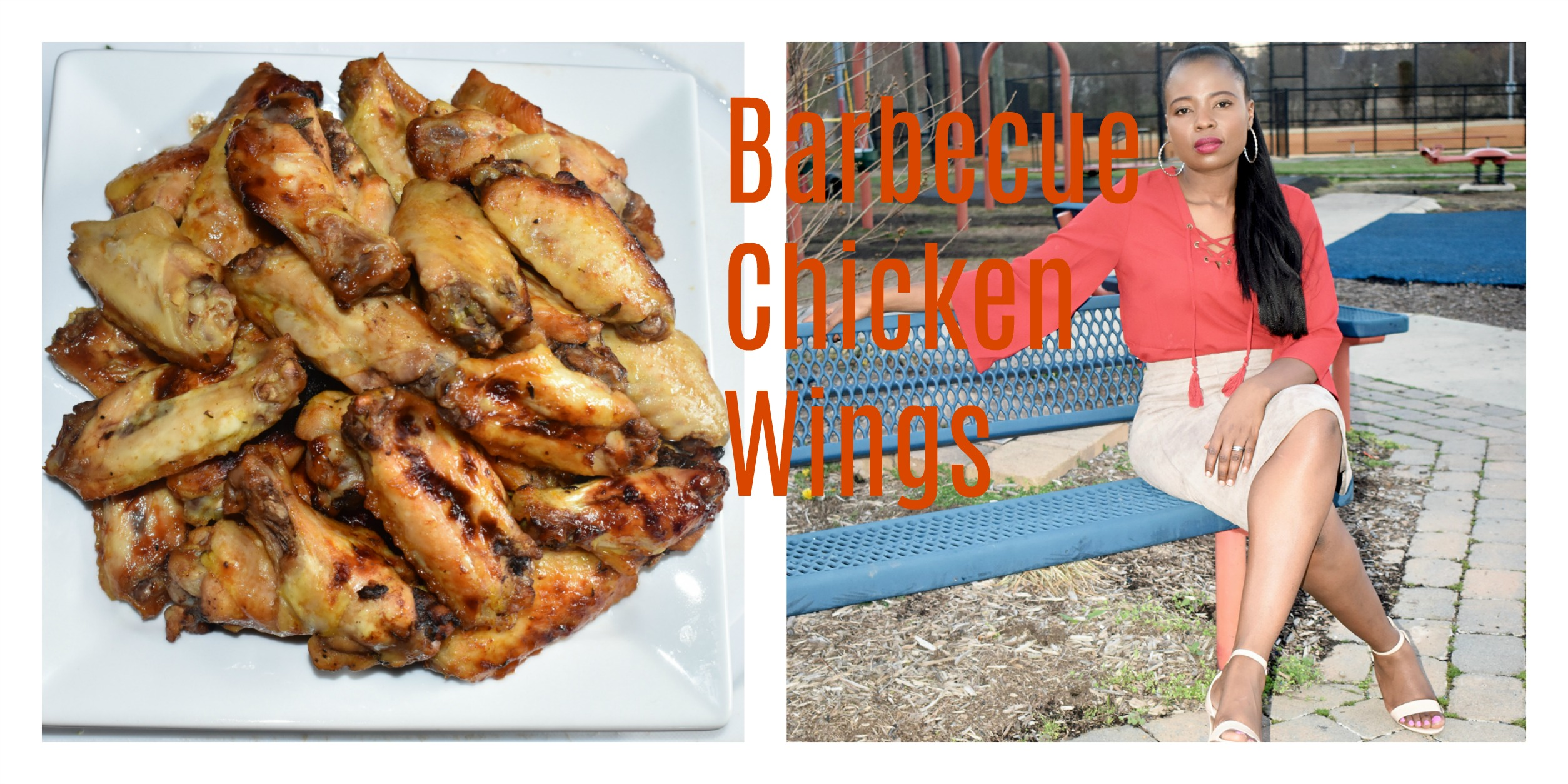 Wings- Delicious barbecue chicken wings graphic